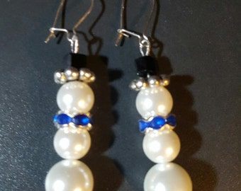 Snowman Earrings30