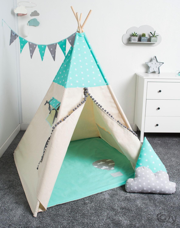 tente tipi indien tente de jeu pour enfant tipi tente. Black Bedroom Furniture Sets. Home Design Ideas