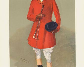Lord Southampton 1907 : Vanity Fair Print / Lithograph
