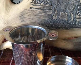 Brew-in-Mug Tea Infuser-stainless steel, tea infuser, tea strainer, loose leaf tea