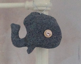 Albert the Whale Fish Lavender Bag