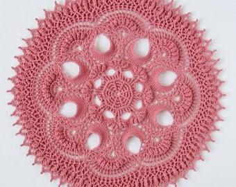 Crochet doily pattern LUMI