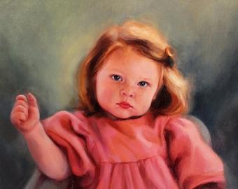 portrait kids child portrait from photo kids portrait