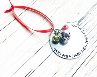 Christmas Tree Ornaments - Jingle Bells Ornament - Christmas Ornaments - Christmas Ornaments Handmade
