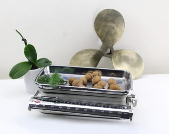 Vintage 1950s Kitchen Scale Original Mid Century Made in Germny West Germany Scale White Westa Favorit Kitchen Scale