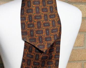 1960s Vintage Grosvenor by Tootal Patterned Cravat
