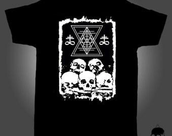 Unisex T-Shirt with illustration OSSUARY