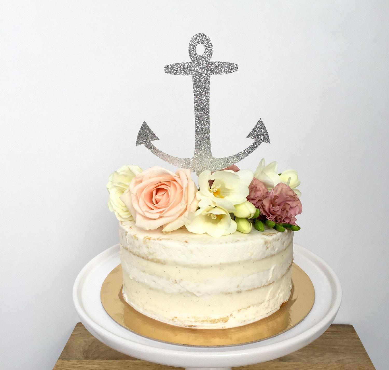 Anchor cake for wedding
