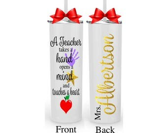 Personalized Teacher Gift for Her, Teacher Appreciation Gift, End of Year Gifts for Teachers, Teacher Mug, Gift Idea for her, Teacher Week