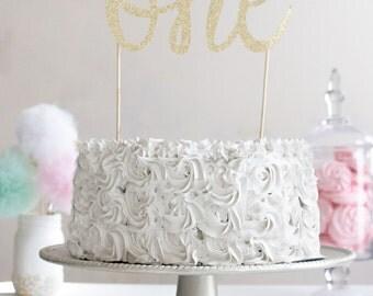 Smash cake topper, cake topper, first birthday, 1st birthday, birthday cake topper, smash cake, gold cake topper, glitter cake topper