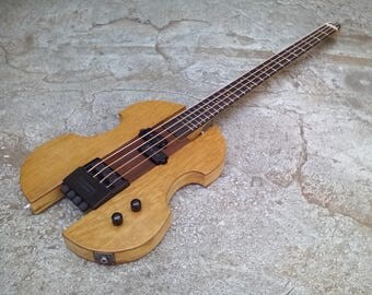 "Headless Electric Guitar Bass ""Polmac"""