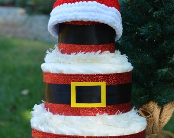 Baby's First Christmas Gift - Baby's First Christmas Santa Hat - New Baby Gift - Baby Christmas Hat - Practical Baby Gift - Cute Baby Gift