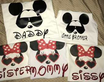 Mickey and Minnie Disney Shirts