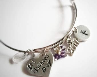 First Mothers Day - 1st Mothers Day - Gift for New Mom - New Mom Jewelry - First Mothers Day Gift - Mothers Day Gift for New Mom