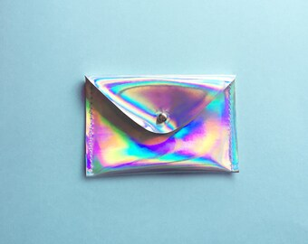 Holographic Card Holder Wallet