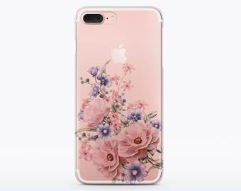 Spring Case Clear case Art case iPhone 7 Case iPhone 6 Case iPhone 7 Plus Case iPhone 5s Case iPhone 5 Case to Samsung S7 Case S6 CMCP45