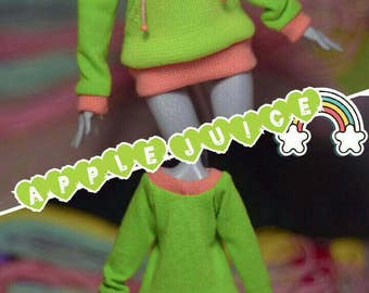 Handmade sweatshirts for dolls Monster Doll, Ever After Doll and etc.