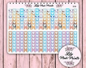 36 Beach Day Checklist Stickers B-59 - Perfect for Erin Condren Life Planners / Journals / Stickers.