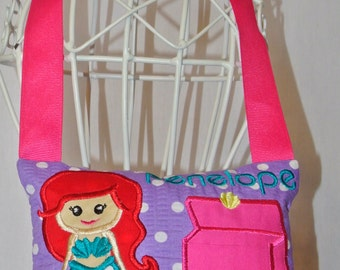 Little Mermaid Tooth Fairy Pillow