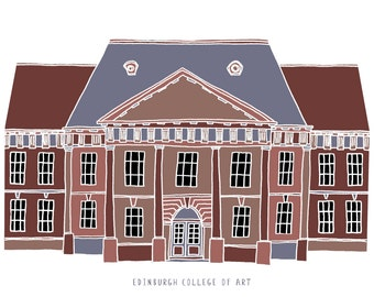 Edinburgh College of Art Print