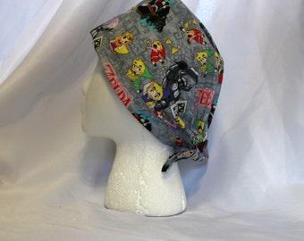 Spirit Tracks Zelda Link Surgical Scrub Cap Chemo Hat