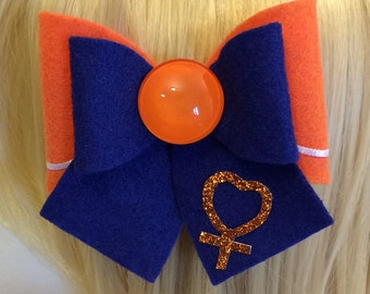 Sailor Venus Felt Hair Bow, Minako Anio, Kawaii Cosplay, Lolita, Sailor Moon