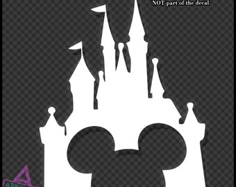 Disney Castle Vinyl Wall Decal Sticker