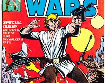 Star Wars 17 comic. Darth Vader, Chewbacca, C3PO, Luke Skywalker, Princess Leia, R2D2, Gift book. 1978 Marvel Comics. Choose VFNM or NM (9.4