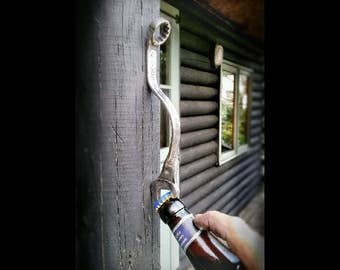 Handmade Wall Mounted Bottle Opener Etsy