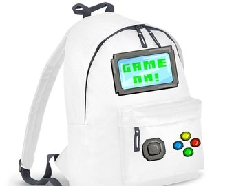 Game On kids backpack