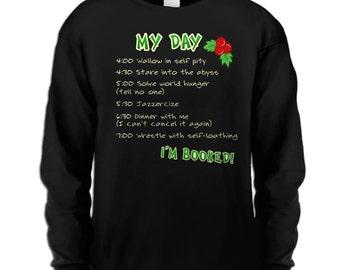 Christmas To Do List long sleeve adult t-shirt