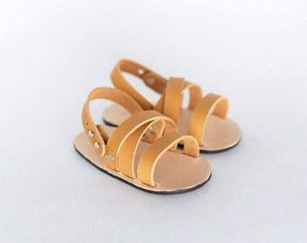 Leather Baby Sandal- Three Strap
