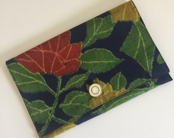 The Zoe Upcycled Handmade Clutch Purse