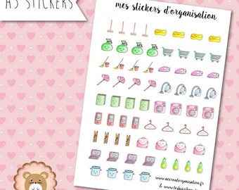 """Planners Stickers """"Organisation"""""""