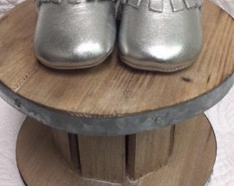 Old Soles Silver Fringe Boot
