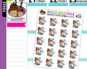 Study Planner Stickers   Study Planner Stickers   School Planner Stickers   Character Stickers   Fits Most Planners   026
