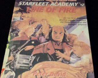 Star Trek the Next Generation - Starfleet Academy, #2: Line of Fire