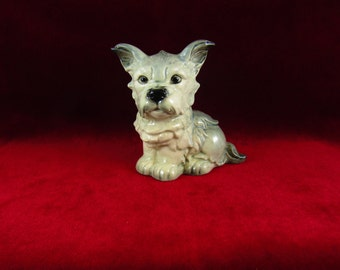 Vintage Goebel Schnauzer Terrier Figurine 30 117 WGermany