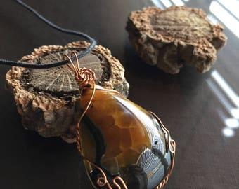 Simbircite Ammonite Necklace