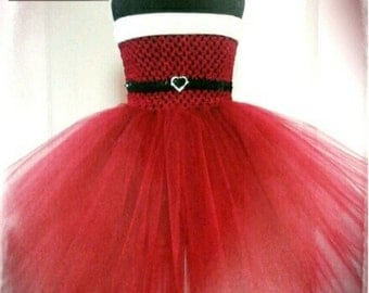 Sweet Santa Tutu Dress. Beautiful Christmas Tutu Party Dress, Handmade Especially For You.