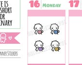 Munchkins - UGH... Need More Coffee Planner Stickers (M271)