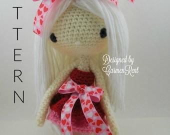 Bianca - Amigurumi Doll Crochet Pattern