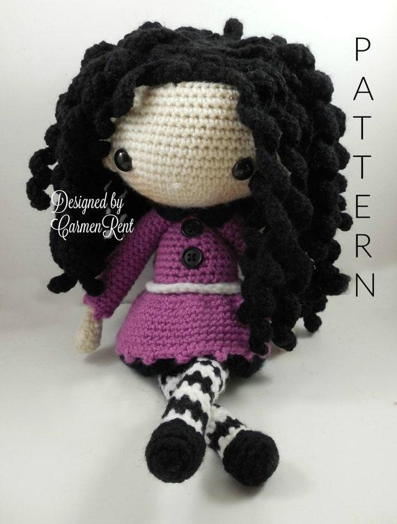 Glasses For Amigurumi : Josefina Amigurumi Doll Crochet Pattern PDF by CarmenRent ...
