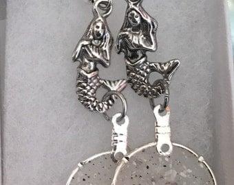 Sand Mermaid Earrings