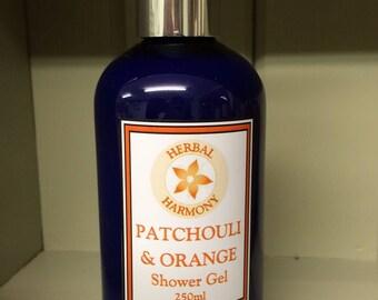 Patchouli & Orange Shower Gel