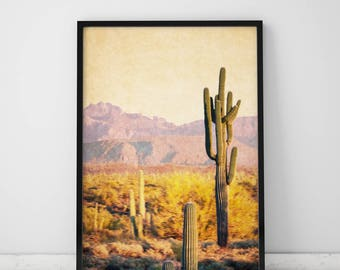 Cactus Print Desert Print Cactus Poster Desert Art Desert Photography Print Cactus Wall Art Prints Cactus Decor Desert Decor Prints Wall Art
