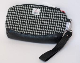Ladies Wristlet /  Ladies Clutch Bag / Harris Tweed Clutch Bag / Wristlet Bag