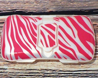 Zebra Travel Wipes Container, Baby Shower Wipes Box, Baby Girl Gift