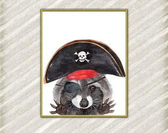 Kids Pirate Room Decor Etsy