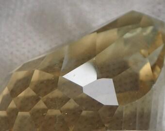 Citrine Gemstone hand made design, Trotting Lightly